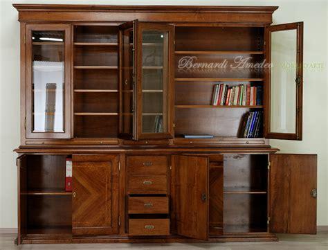 mobili libreria classica libreria classica in noce massello base e alzata ultimi