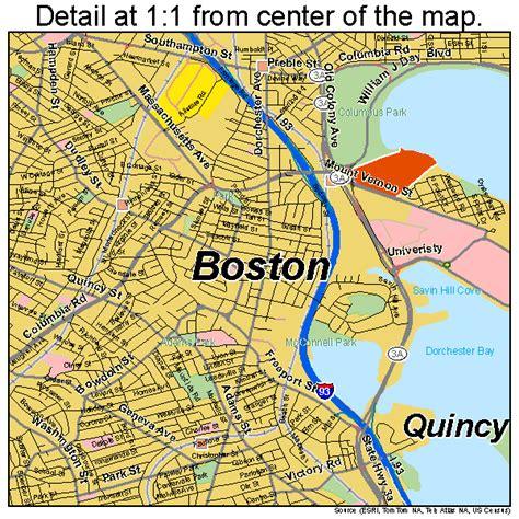 map of boston ma boston map