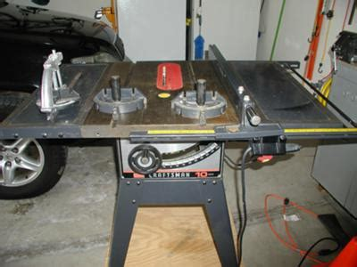 craftsman table  model