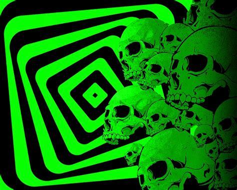 imagenes de calaveras verdes fondos de pantalla de calavera verde y con cuadros tama 241 o