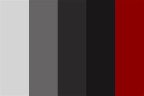 grey color scheme red grey white color palette