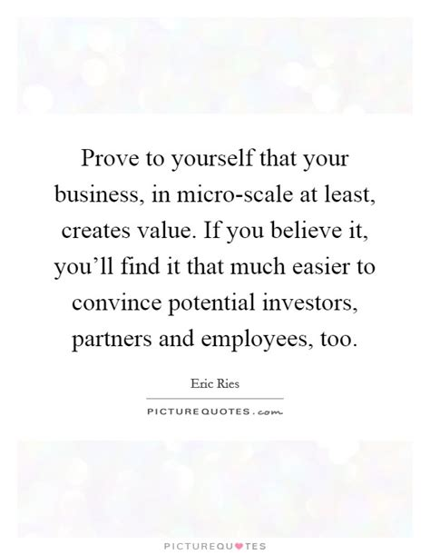 How To Convince Employers You Ll Stay With An Mba by Prove To Yourself That Your Business In Micro Scale At