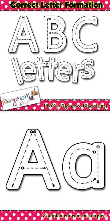 How To Write Alphabet Letters Correctly