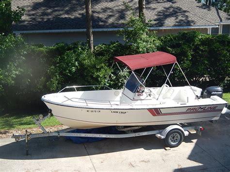 proline boats for sale in nc 1990 20 ft proline center console north carolina 27949