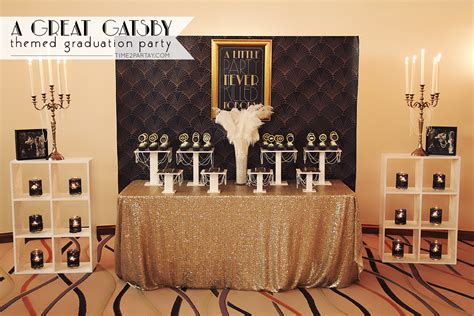 the great gatsby grad theme great gatsby themed graduation party time2partay com
