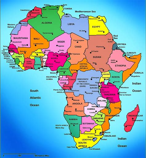 Search Africa 100 Labeled Map Of Africa Free Central Africa Editable Map Free Powerpoint Templates