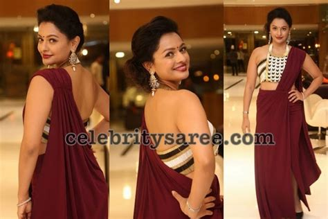 Blouse Garuda by Actresses In Garuda Premiere Saree Blouse