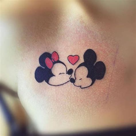 mickey and minnie tattoo by sky iink