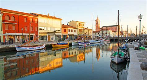 porto canale 10 sehensw 252 rdigkeiten in cesenatico adria k 252 ste italien