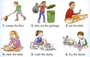 home chores raising responsible children bakebake
