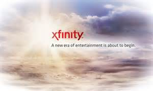 The modest image adorning the sole page xfinity.com. Xfinity