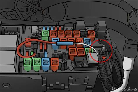 how to wire a radar detector to fuse box 40 wiring