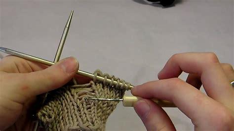 picking up stitches knitting knitting tip up a dropped stitch