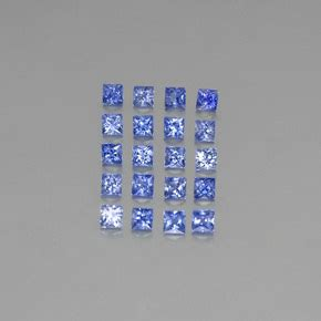Blue Safir Sapphire 4 2ct blue sapphire 2ct square from madagascar gemstones