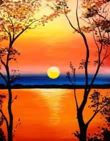 Paint Color Ideas For Bathroom - best 20 easy acrylic paintings ideas on pinterest sunset painting easy acrylic painting for