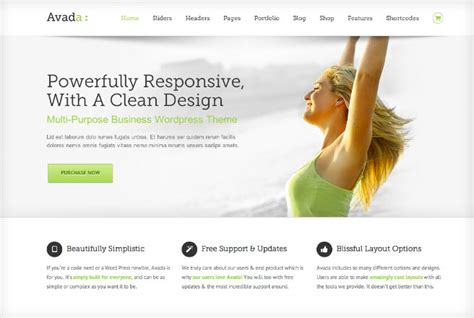 avada theme blog exles avada multi purpose wordpress theme theme fusion