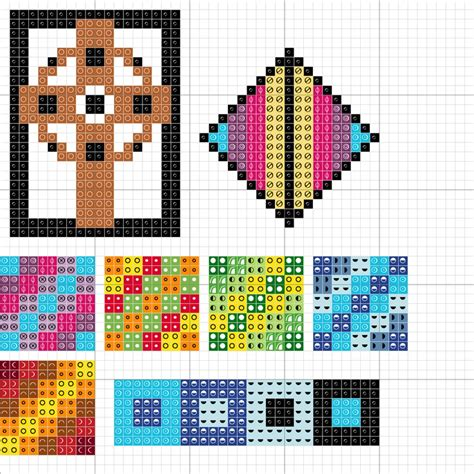 abstract pattern cross stitch cross stitch abstract patterns chart my handmade works