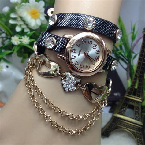 watch girls fashion women ladies girls watch wristwatch leather hollow