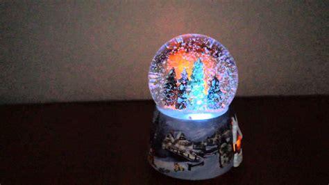 Bola Snowball Musik Box snow spray windup snowball xmax box