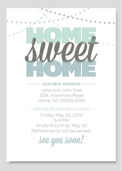 housewarming invitations template best 25 housewarming invitations ideas on