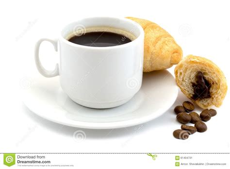 Papa Bean White Coffee background of cup of coffee beans stock photography