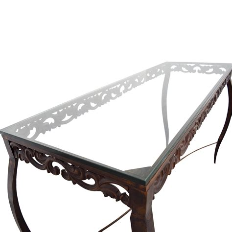pier one imports console table 90 pier 1 imports pier 1 imports glass console