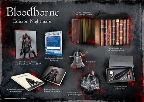 presentamos las ediciones coleccionista de bloodborne