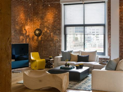 modern loft living room modern loft warehouse living room modern living room san francisco by