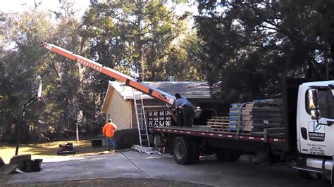 load shingles to roof loading shingles on roof stubbs roofing tallahassee