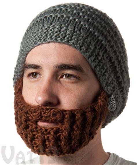 knit hat with beard the original beard hat from beardo