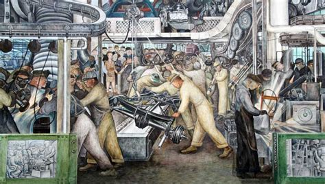 Automotive Wall Murals images of murals by diego rivera at the detroit institute