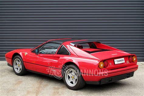 Ferrari Gts 328 by Sold Ferrari 328 Gts Targa Coupe Auctions Lot 25