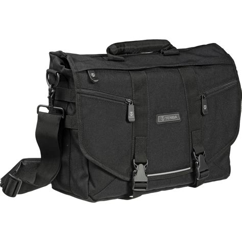 tenba messenger small photo laptop bag black 638 221 b h