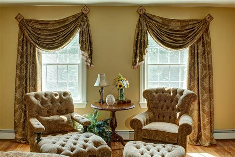 Dramatic Window Treatments Interior Designer Interior Design Company Decorators