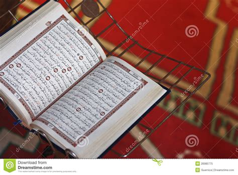 open quran royalty  stock photo image