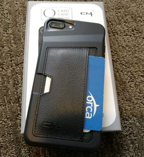 q card iphone 7 plus cm4 q card for the apple iphone 7 plus protective wallet with kickstand option zdnet