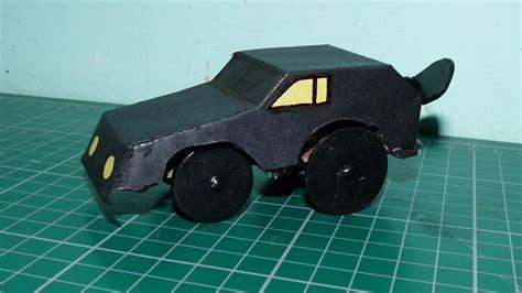 How To Make A Model Car Out Of Paper - how to make a propeller powered car from cardboard and