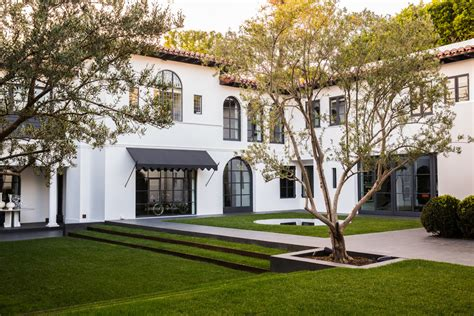 modern spanish style homes beverly hills spanish revival maine design