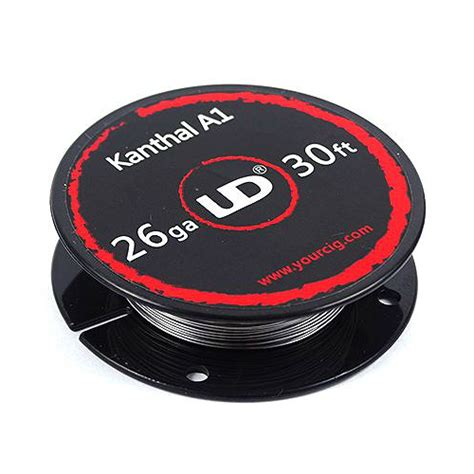 Ud Kanthal A1 24 Ga 30feet Youde Kanthal A1 24 Awg Authentic vaping accessories ud kanthal a1 26 wire 30ft 9 15m
