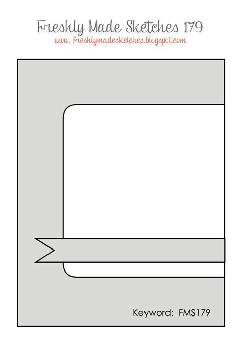 Card Template Sketch by 1000 Images About Card Sketches Templates On