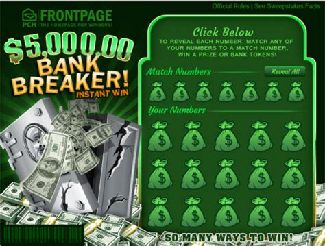 Win Money Today - need money today win instant cash online at pch pch blog