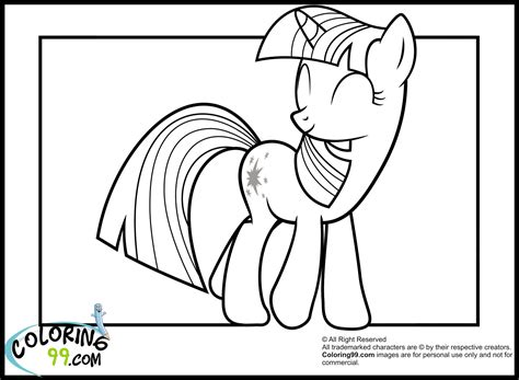mlp twilight sparkle coloring pages