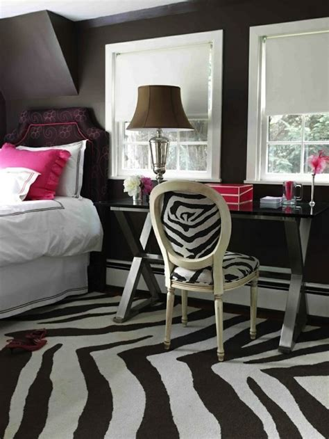 red and zebra print bedroom ideas teen room ideas using patterned area rugs kidspace