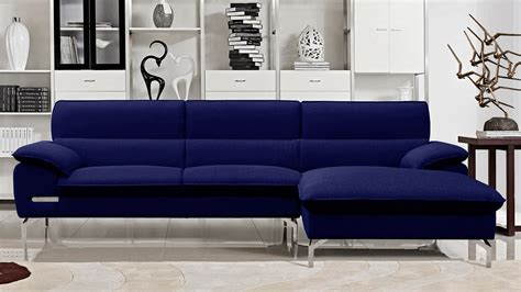 Blue Sectional Sofa With Chaise Astounding Navy Blue Modern Blue Sofa