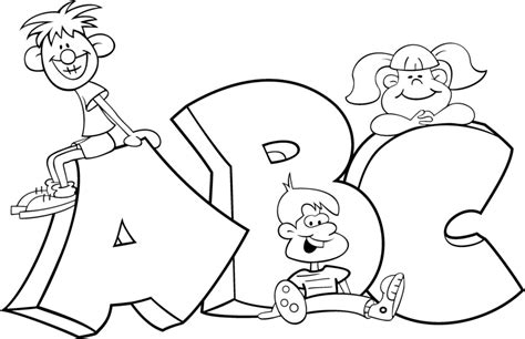 Abc Coloring Pages Coloring Pages To Print Abc Coloring Pages