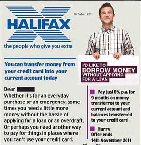 Mortgage Offer Letter Halifax Halifax Accused Of Fuelling Debt Crisis With 163 11 000 Loans On Your Credit Card Daily Mail