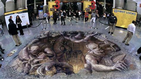 imagenes raras tridimensionales los 10 dibujos 3d en el piso mas hermosos del mundo