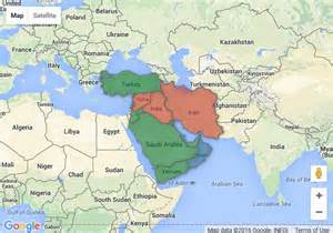 Google Maps Middle East by Middle East 2030 Three Visions For One Region Excerpt