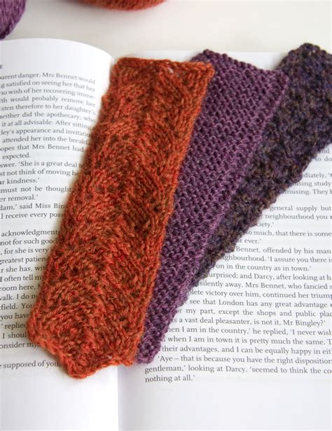 knitted bookmarks knitting bookmarks tricksy knitter by megan goodacre