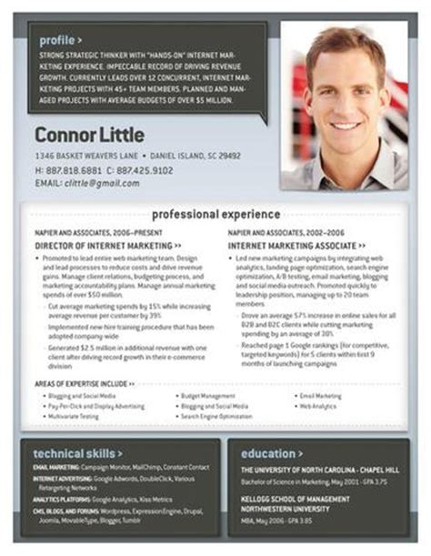 Resumes With Photos Loft Resumes Loft Resume Template